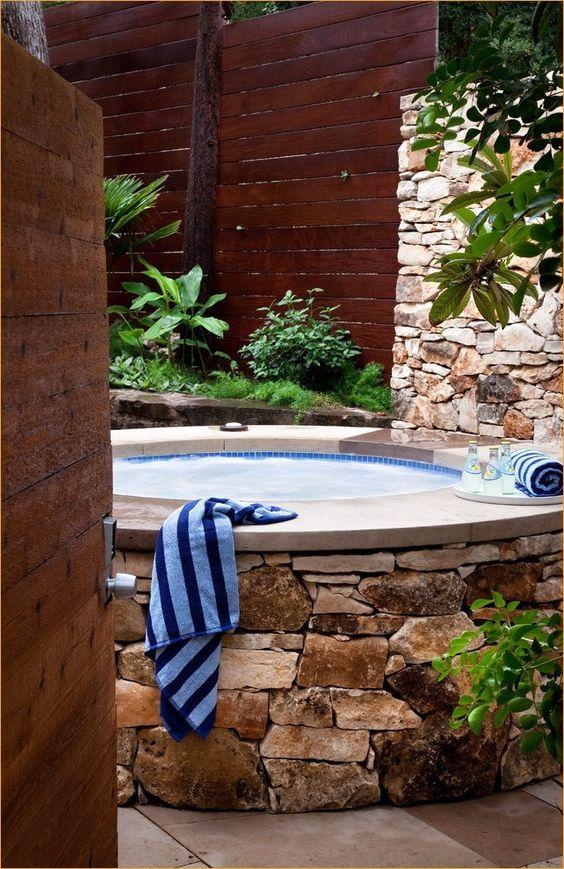 Hot Tub Backyard 17