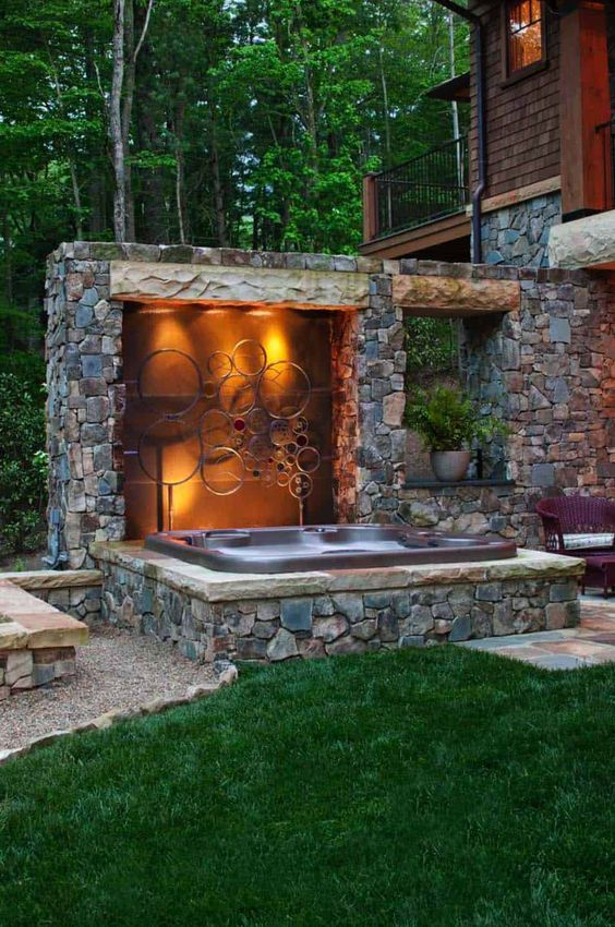 Hot Tub Backyard 20