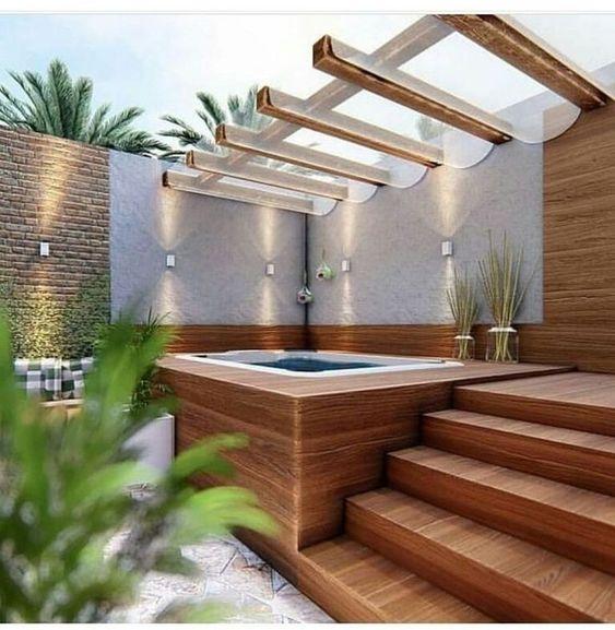 Hot Tub Pergola 13