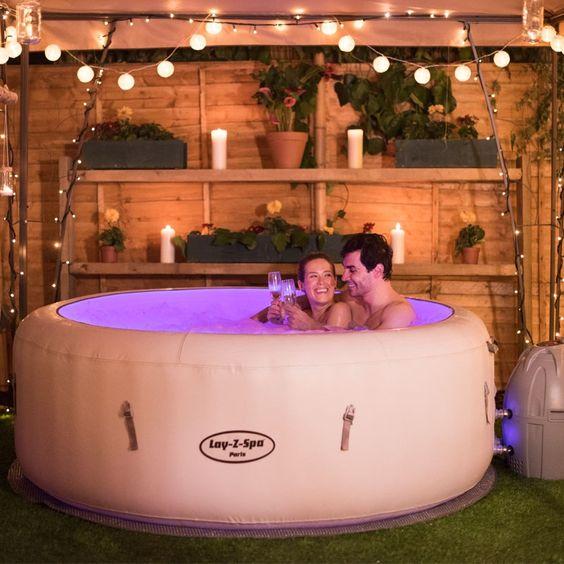 Hot Tub Pergola 19