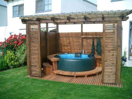 Hot Tub Pergola 20