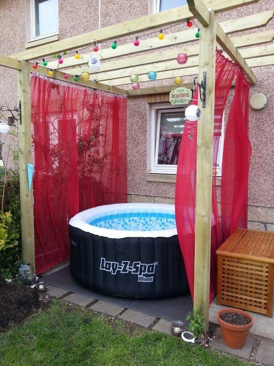Hot Tub Pergola 21