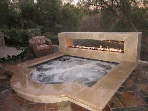 Inground Hot Tub 14