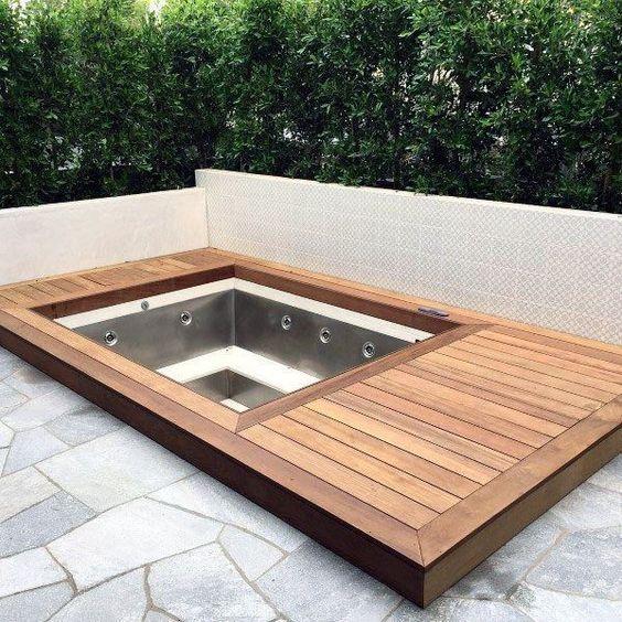 Inground Hot Tub 20