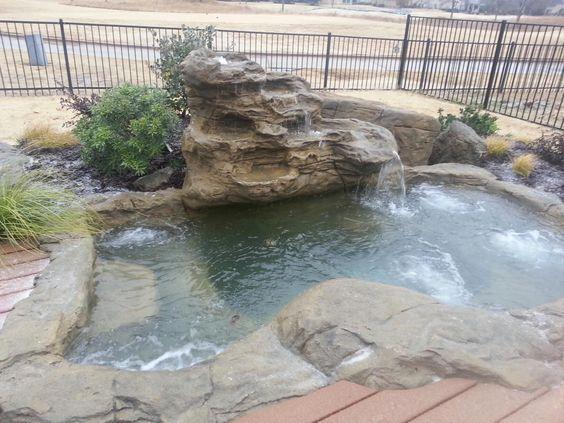 Inground Hot Tub: Beautiful Natural Design