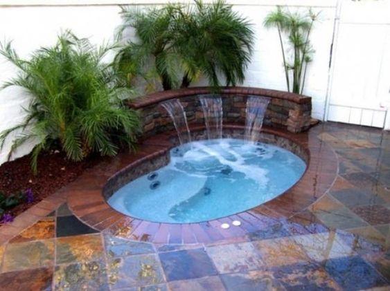 Inground Hot Tub 9