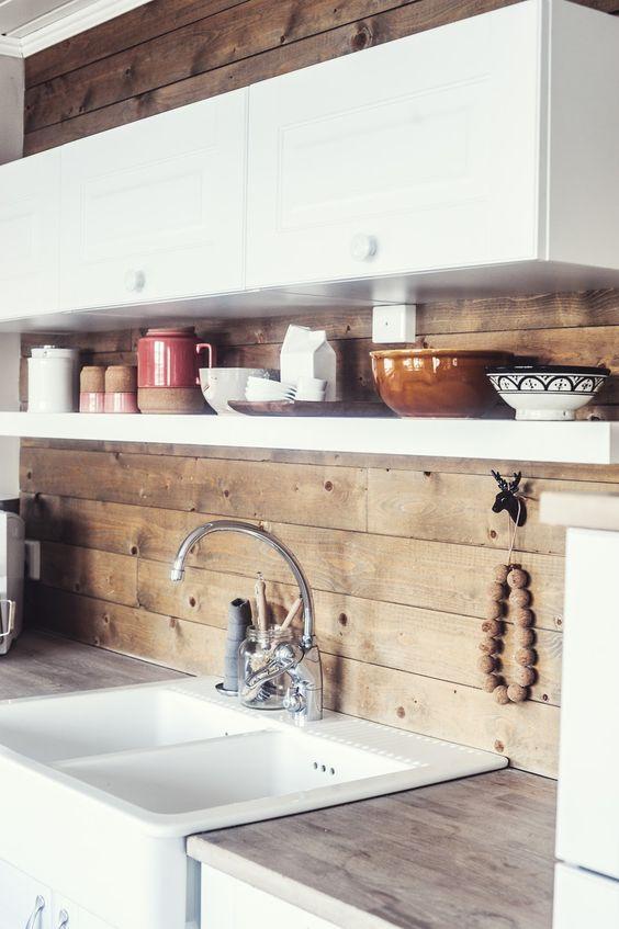 Kitchen Backsplash Ideas: Gorgeous Rustic Style