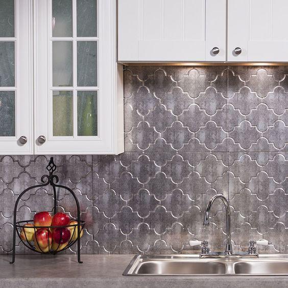 Kitchen Backsplash Ideas: Elegant Transitional Style