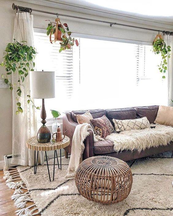 Living Room Decor Ideas: Gorgeous Boho Style