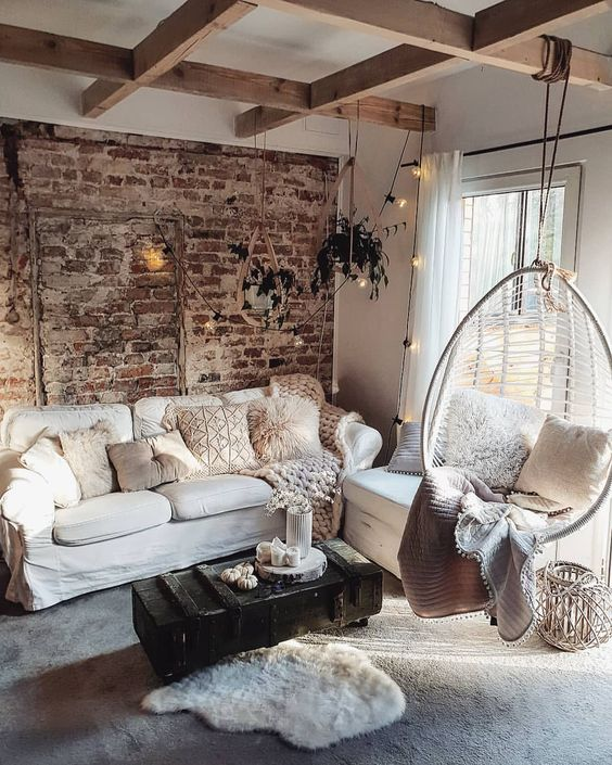 Living Room Decor Ideas: Captivating Rustic Style