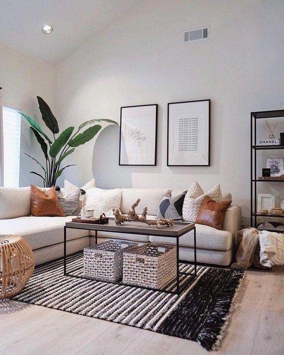Living Room Decor Ideas: Modern Minimalist Style