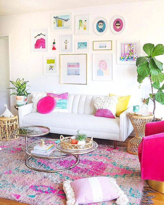 Living Room Paint Ideas: Catchy Colorful Decor