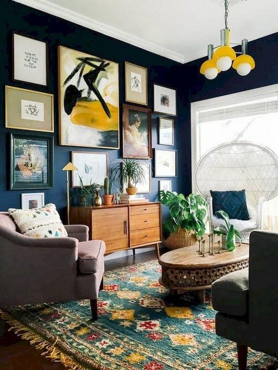 Living Room Paint Ideas 19