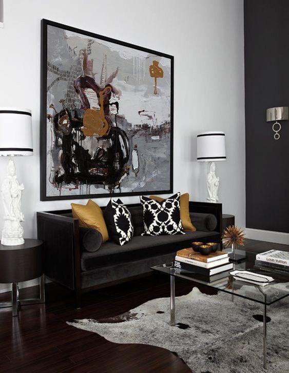 Living Room Paint Ideas: Glamorous Neutral Decor