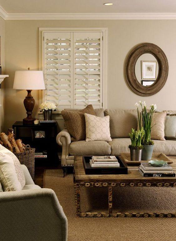 Living Room Paint Ideas: Cozy Warm Decor