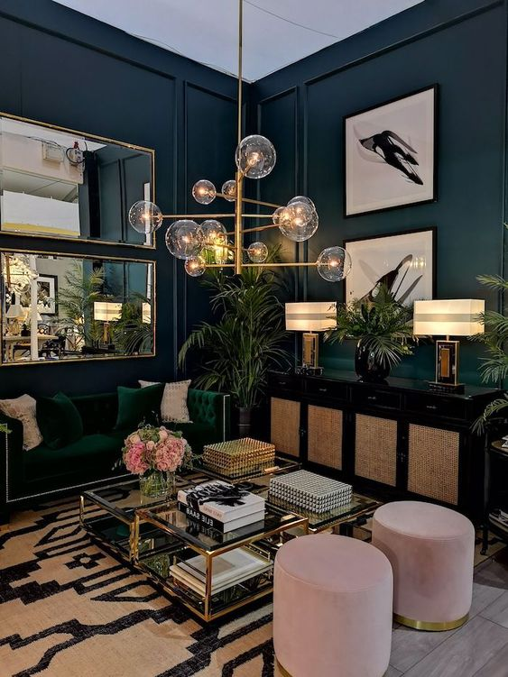 Living Room Paint Ideas: Fascinating Eclectic Decor