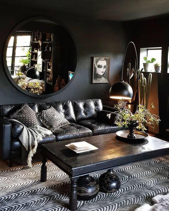 Living Room Paint Ideas: Striking Bold Decor