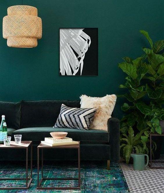Living Room Paint Ideas: Elegant Earthy Decor