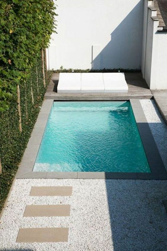Simple Swimming Pool Ideas: Gorgeous Small Design