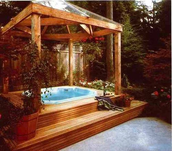 small hot tub ideas 11