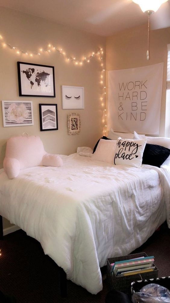 Apartment Bedroom Ideas: Chic Monochrome Decor