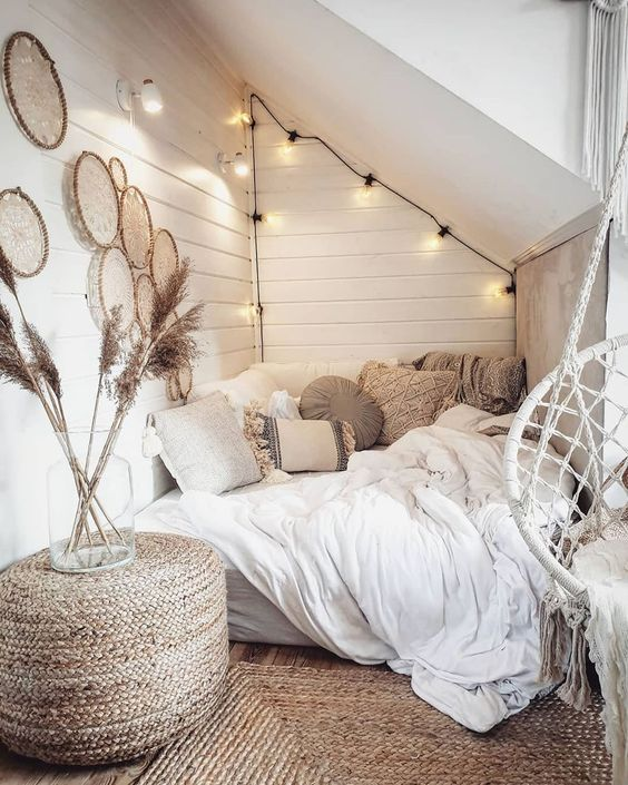 Bedroom Teenage Ideas: Chic Boho Decor