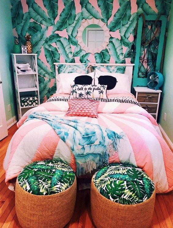 Bedroom Teenage Ideas: Unique Striking Decor