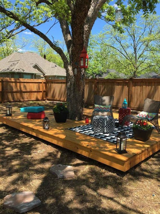 DIY Backyard Oasis Ideas 13