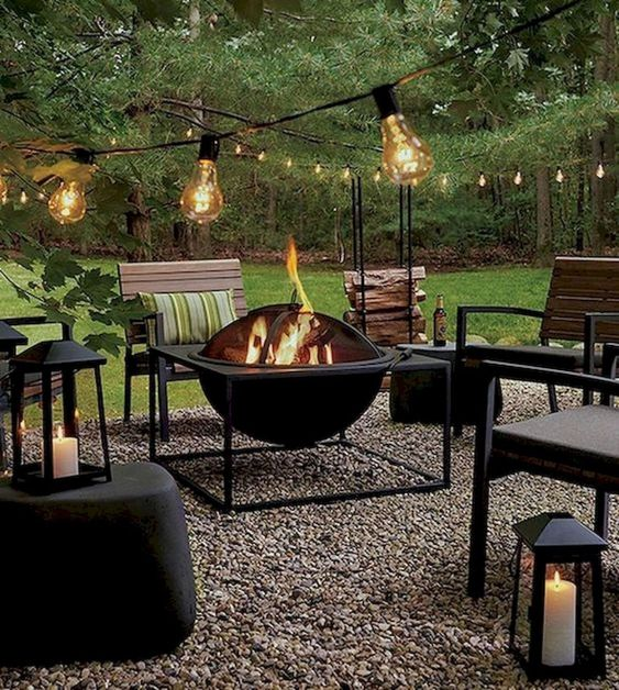 DIY Backyard Oasis Ideas 23