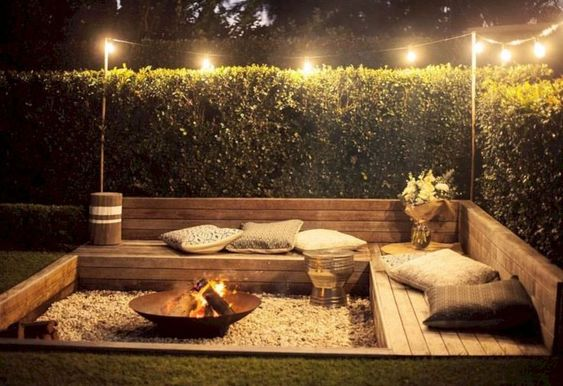 DIY Backyard Oasis Ideas 24