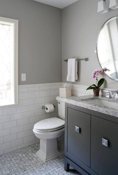 Gray Bathroom Ideas: Simply Chic Decor