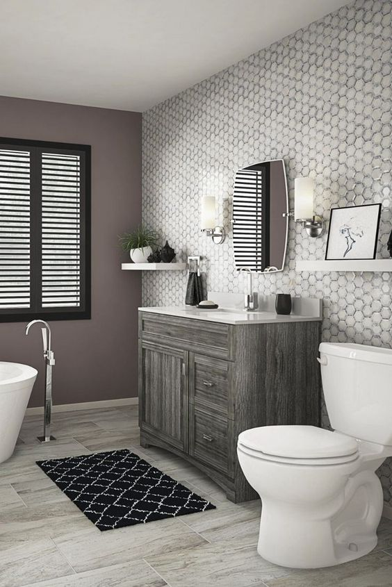 Gray Bathroom Ideas 10
