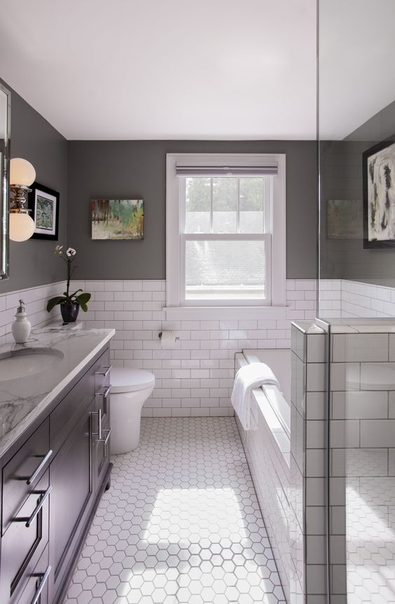 Gray Bathroom Ideas 11