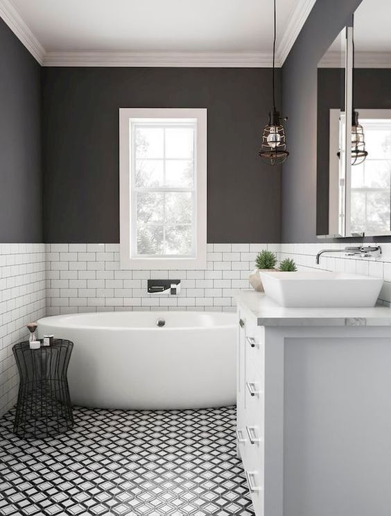 Gray Bathroom Ideas 12