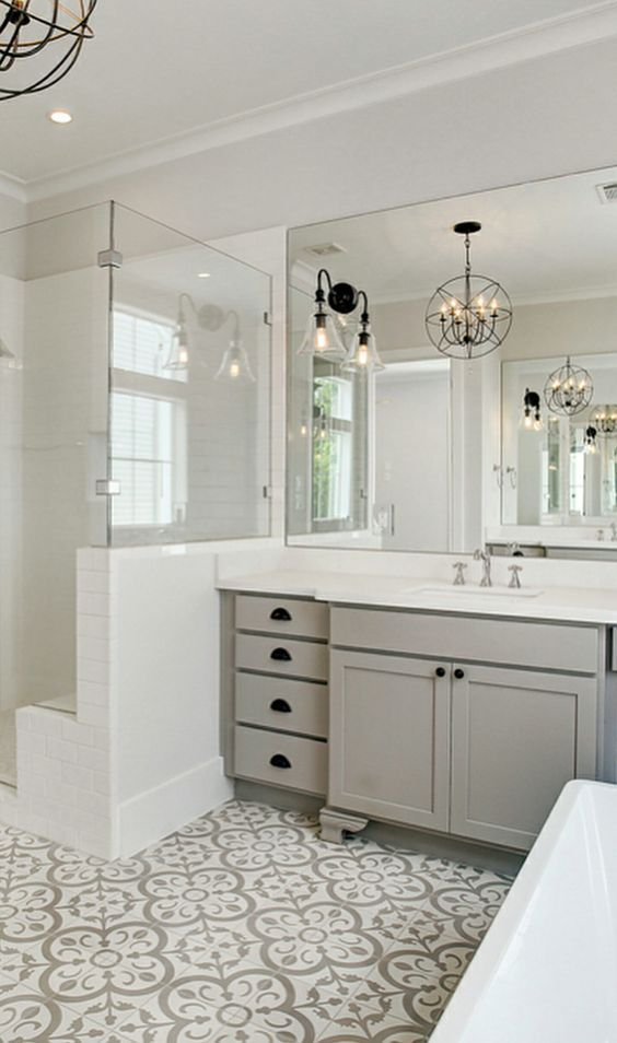 Gray Bathroom Ideas 13