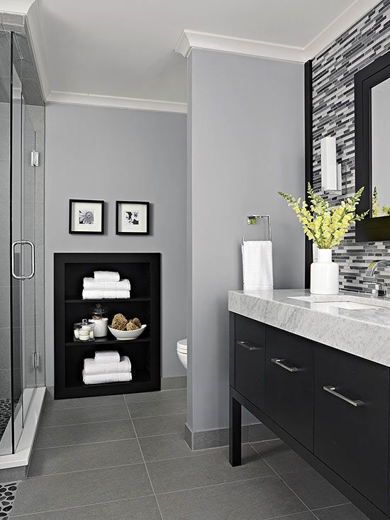 Gray Bathroom Ideas 15