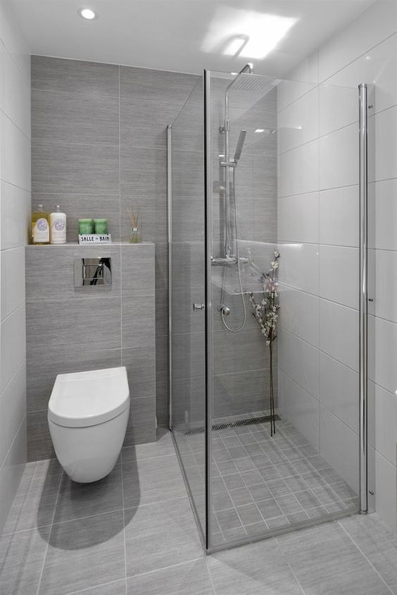 Gray Bathroom Ideas 17