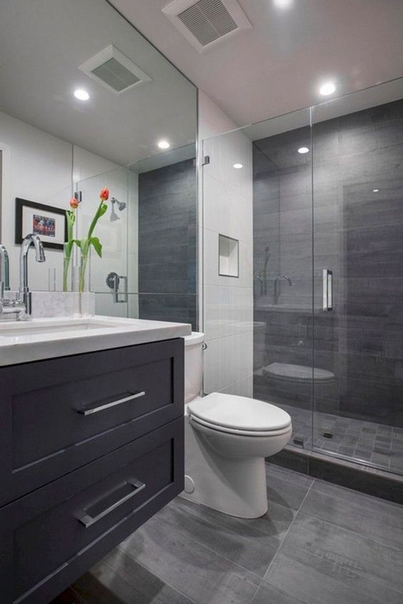Gray Bathroom Ideas 18