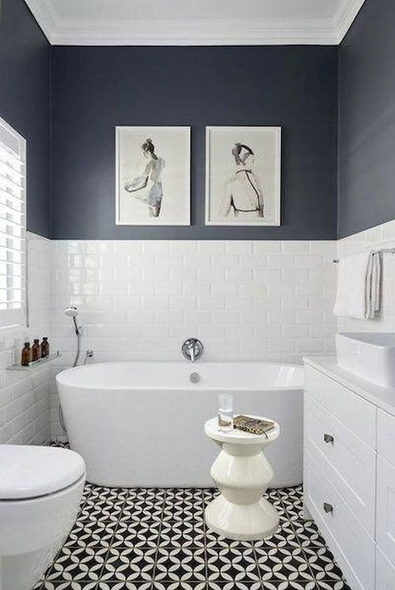 Gray Bathroom Ideas 19