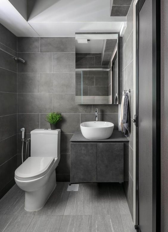 Gray Bathroom Ideas 20