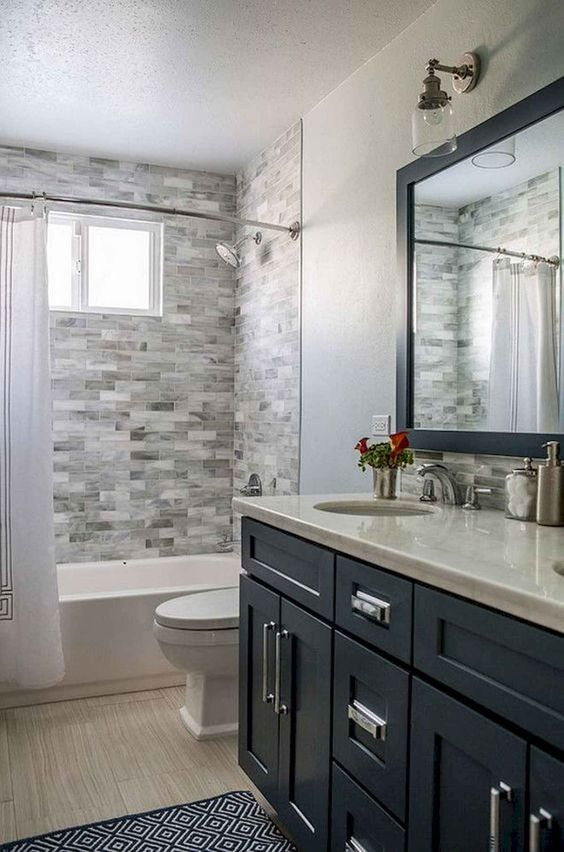 Gray Bathroom Ideas 21