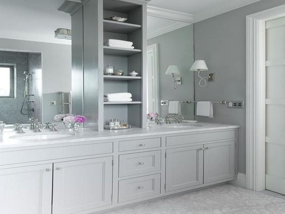 Gray Bathroom Ideas 23