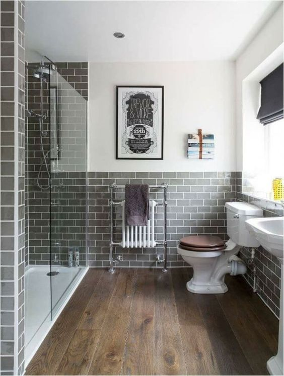 Gray Bathroom Ideas: Catchy Farmhouse Decor