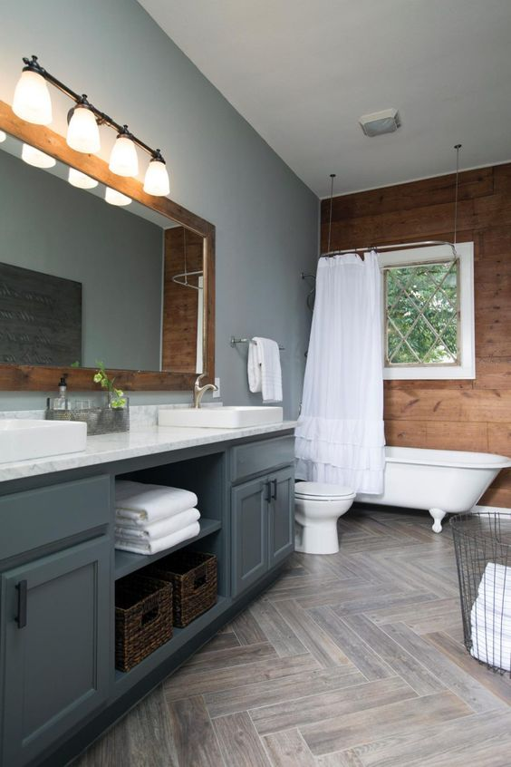 Gray Bathroom Ideas: Catchy Earthy Decor