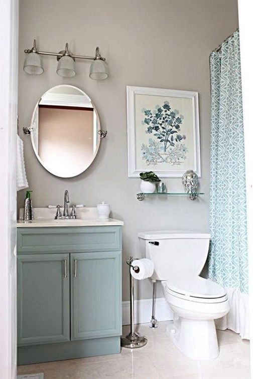 Gray Bathroom Ideas: Beautiful Soft Decor