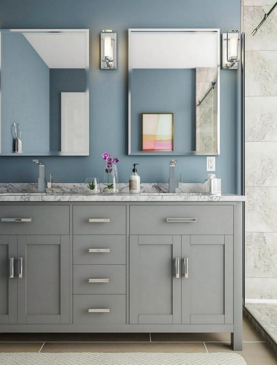 Gray Bathroom Ideas: Simply Attractive Decor