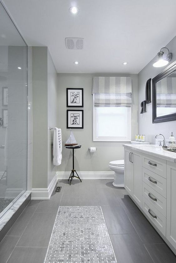 Gray Bathroom Ideas 9