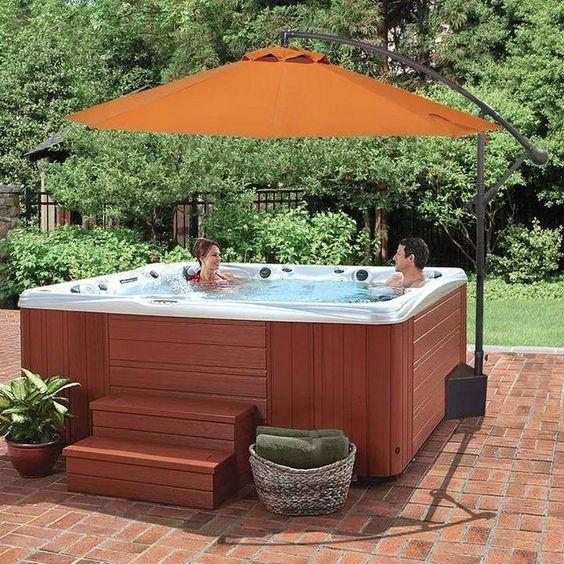 Hot Tub Ideas: Beautiful Rustic Design