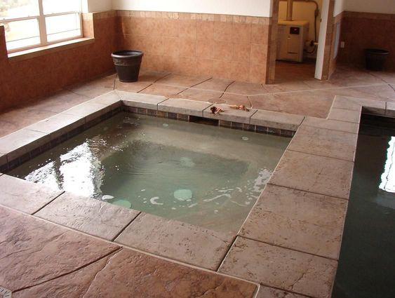 Indoor Hot Tub Ideas 11