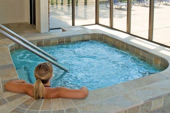 Indoor Hot Tub Ideas 12